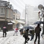 月曜日関東甲信で大雪の恐れ都内も積雪か。家庭でできる大雪対策を考えた