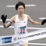 設楽悠太 東京マラソン 腕章 右腕 1億円 日本新記録