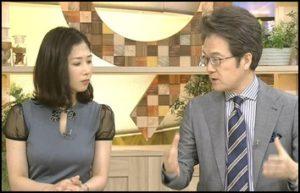 桑子真帆,シースルー衣装